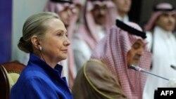 Hilari Klinton na današnjem skupu u Saudijskoj Arabiji