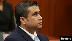 Terdakwa George Zimmerman mulai diadili dalam kasus penembakan atas remaja berkulit hitam, Trayvon Martin di Sanford, Florida (24/6).