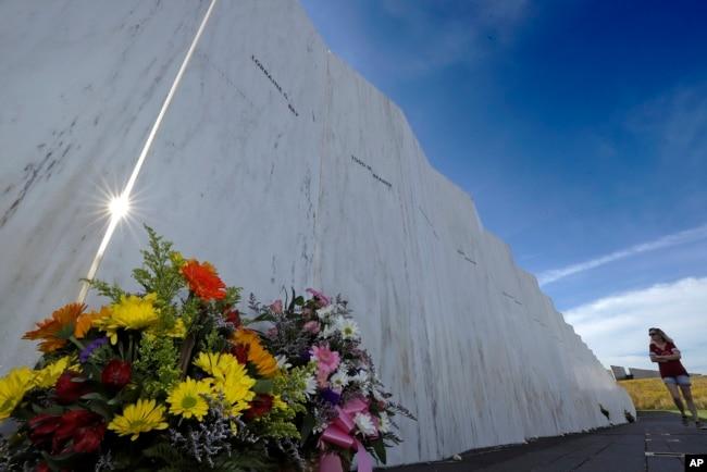 پینسلوینیا میں فلائٹ 93 کی یاد میں قائم یادگار۔ فائل فوٹو