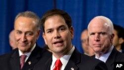 """Marco Rubio calificó de """"bochornosa"""" la respuesta dada a la crisis de Venezuela por parte de la Organización de Estados Americanos, la OEA."""