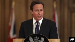 ນາຍົກລັດຖະມົນຕີອັງກິດ ທ່ານ David Cameron