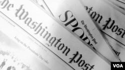 The Washington Post Newspaper. (Photo by Diaa Bekheet)