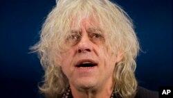 爱尔兰老牌摇滚歌手、慈善音乐会组织者鲍勃•格尔多夫(Bob Geldof)
