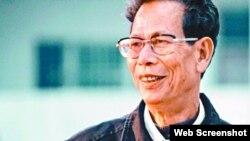 广东乌坎村维权领袖、前村委会主任林祖恋(苹果日报图片)