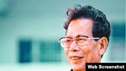 廣東烏坎村維權領袖、前村委會主任林祖戀(蘋果日報圖片)
