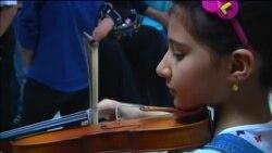 Muzički program kao bijeg od nasilja za iračku djecu