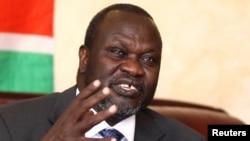 Shugaban 'yan tawayen Sudan ta Kudu Riek Machar wanda yanzu shi ne kuma mataimakin shugaban kasa
