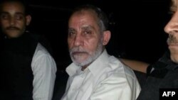 穆斯林兄弟会精神领袖穆罕默德·巴迪2013年8月20日照片