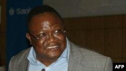 Le numéro deux de l'opposition, Tundu Lissu à Arusha, Tanzanie, 17 mars 2017.