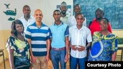 Des enseignants, en Guinée-Bissau