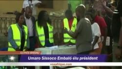 Umaro Sissoco Embalo élu président de la Guinée-Bissau