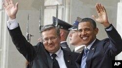 Барак Обама и Бронислав Комаровский