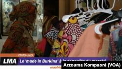 """Le """"made in Burkina"""" à la conquête du marché"""