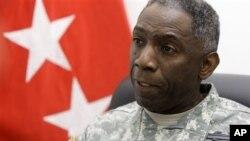 Jenerali William Ward, kamanda wa AFRICOM commander.