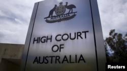 Pengadilan Tinggi di Canberra, Australia (Foto: dok).
