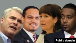 Miseensota Kongireesii USA: Tom Emmer,Keith Ellison, Betty MCCollum fi Abdi Warsame( Mana Maree MN)