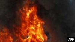 Cháy khu thương mại ở Nga làm 2 người chết
