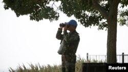 Солдат миротворчих сил ООН на Голанських висотах
