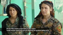 Yazidi Female Fighters Join Battle Against IS