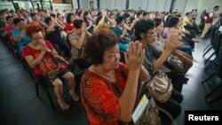 Buổi cầu nguyện cho các hành khách chuyến bay MH370