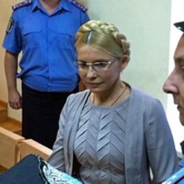 Former Ukrainian Prime Minister Yulia Tymoshenko at a court hearing in Kyiv, Aug 11, 2011