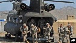 دو عسکر ناتو در حادثه سقوط هلی کوپتر در افغانستان کشته شدند
