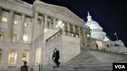 RUU jangka pendek anggaran belanja pemerintah federal AS akan diputuskan dengan pemungutan suara hari Selasa.