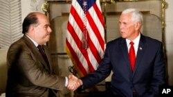 El vicepresidente de EE.UU., Mike Pence se reunió con representantes de la oposición venezolana en el marco de la XIII Cumbre de las Américas.