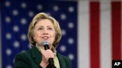 Kandida Hillary Clinton