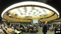 BM İnsan Hakları Konseyinin bir toplantısı