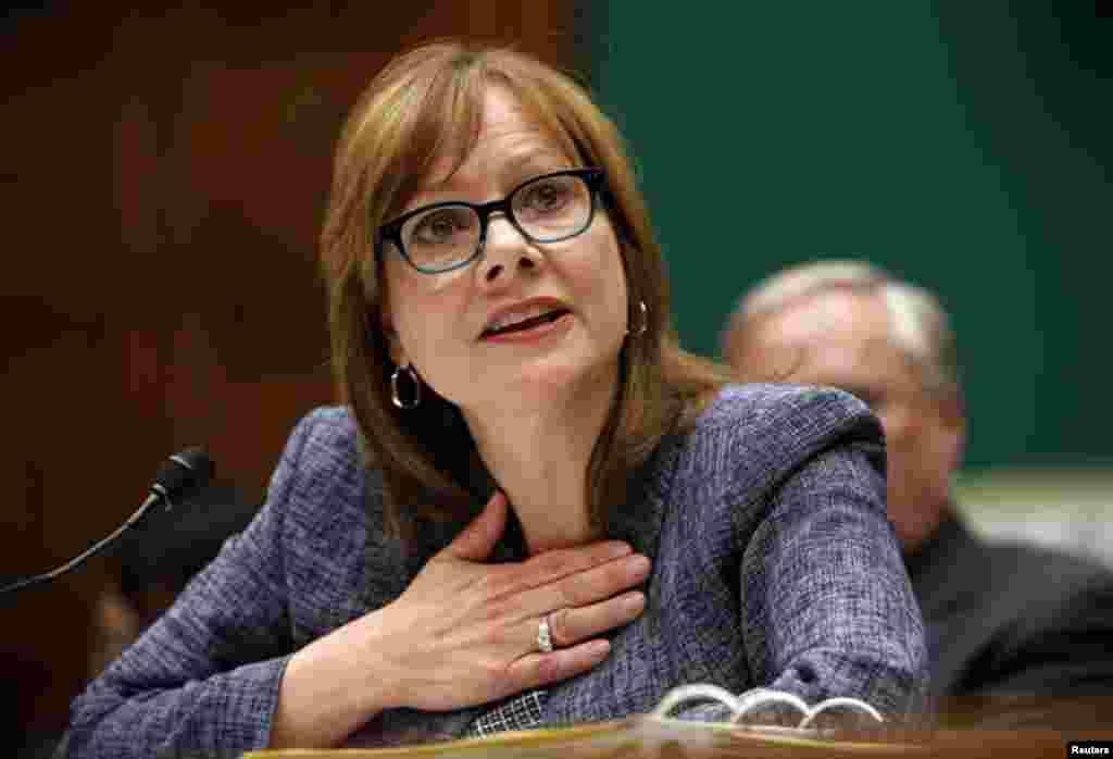 General Motors avtomobil şirkətinin icraçı direktoru Meri Barra