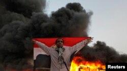 Prizor sa protesta u kairskoj četvrti Mokatam, 22. mart 2013.