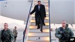 美国防部长帕内塔2011年12月13号访问阿富汗