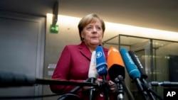 Shanseliye w'Ubudagi, Angela Merkel