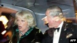 Thái tử và phu nhân Camilla không hề hấn gì trong vụ tấn công
