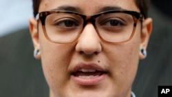 Daniela Vargas podría ser deportada este mismo viernes por haber dejado expirar su DACA.