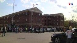 Protestan en Baltimore por violencia policial