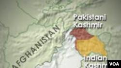 Kashmir terbagi antara India dan Pakistan dan diklaim keseluruhannya oleh kedua negara.