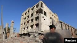 Zgrada državne bezbednosti u Kairu ispred koje je eksplodirao automobil bomba