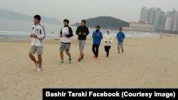 ورزشکاران افغان در کوریای جنوبی