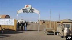 Suasana di pertambangan Oyu Tolgoi di desa Khanbogd, provinsi Umnugobi, Mongolia (Foto: dokAP Photo/Ganbat Namjilsangarav). Jim Doak, seorang pengusaha Kanada berusia 59 tahun, ditemukan meninggal dunia di kamarnya di sebuah hotel mewah di ibukota Mongolia, Ulan Bator, Jumat (24/4).