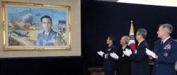 '한국전 고아들의 아버지' 헤스 미 공군 대령 1주기 추모식