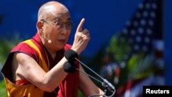 西藏精神领袖达赖喇嘛