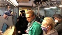 ဂ်ာမနီကျပန္လာတဲ့ ႐ုရွားအတိိုက္အခံ Navalny ေမာ္စကိုေလဆိပ္မွာ အဖမ္းခံရျခင္း
