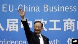 中國總理溫家寶9月20日出席歐盟與中國高峰會議