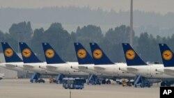 德國漢莎航空公司機艙服務人員罷工