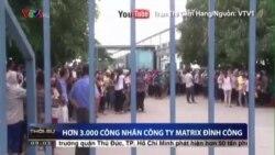 3.000 công nhân đình công ở Nghệ An