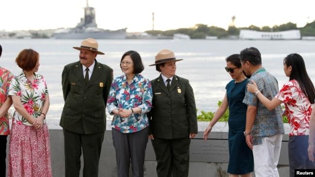 报告称台湾在南太平洋活动助美抗衡中国扩张