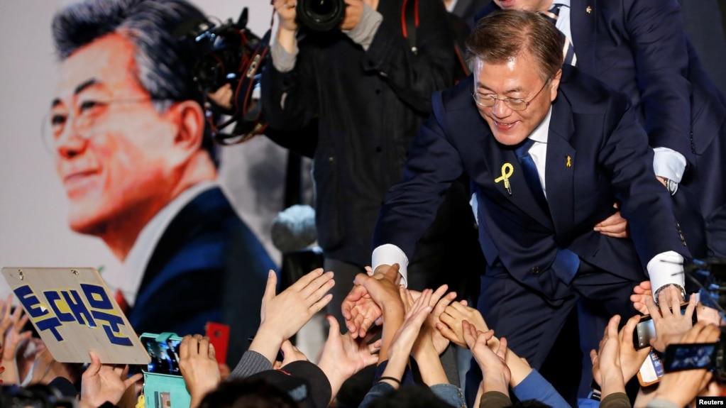Image result for president moon jae-in
