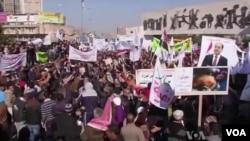 عراق میں حکومت مخالف مظاہروں میں شدت آئی ہے